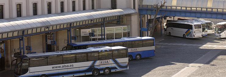 На автобусе в Барселону