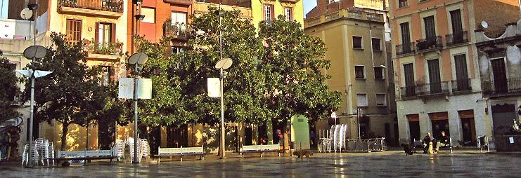 Plazas de Gracia en Barcelona España