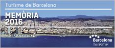 Memoria Turisme de Barcelona 2016