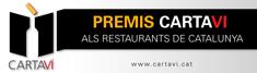 Premis Carta Vi als restaurants de Catalunya